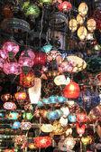 Turkish decorative colorful lamps . — Stockfoto
