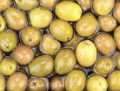 Green olives in Turkish market. — Stock Photo