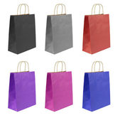 Shopping bags set — Stock Photo