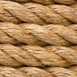 Ship ropes as background — Stock Photo