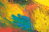Mixed color oil paints — Stock Photo