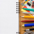 Back to school concept and office supplies — Stock Photo #12593610