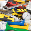 Stock Photo: Tools and construction equipment