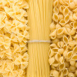 Stock Photo: Raw pastas background