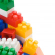 Stock Photo: Colorful construction bricks