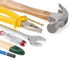 Kit of construction tools — ストック写真