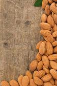 Mandeln nüsse — Stockfoto