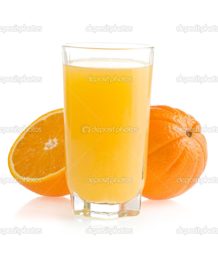 橘子汁卡通图片