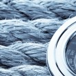 Ropes and compass — Stock Photo #21452075