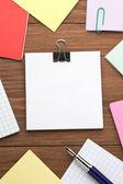 Papier et stylo — Photo