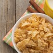 Royalty-Free Stock Photo: Bowl of corn flakes