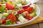 Yunan salatası — Stok fotoğraf