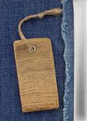 Jeans bleu comme toile de fond — Photo