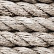 Stock Photo: Ship ropes as background