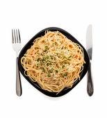 Pasta spaghetti macaroni — Stock Photo