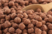 Cereal chocolate balls — Stock Photo