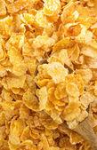 Corn flakes background — Stock Photo