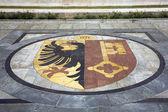 Geneva coat of arms — Stock Photo