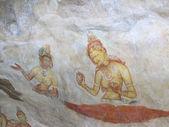 Fresco in Sigiriya, Sri Lanka — Стоковое фото