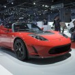 Tesla Roadster — Stock Photo