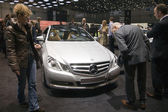 Carro de cgi mercedes blueefficiency e250 — Fotografia Stock