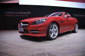 Mercedes SLK 250 BlueEfficiency — Stock Photo