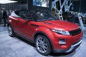 Range Rover Evoque Coupe — Stock Photo