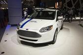 Ford focus electro bev — Zdjęcie stockowe