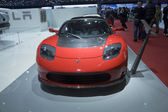 Tesla roadster — Stockfoto
