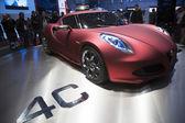 Alfa romeo 4c begreppsbil — Stockfoto