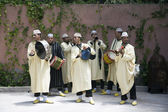 Traditional Moroccan Musicians — Stockfoto