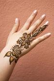 Henna Tattoo — Stock Photo