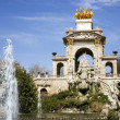 Stock Photo: Cascada, Parc de lCiutadella