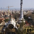 Stock Photo: Tower in Park Guell