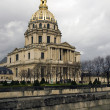 Stock Photo: Dome des Invalides, Paris, France