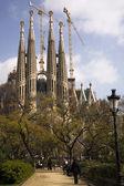 Sagrada Familia, Barcelona — Stock Photo