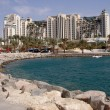 Vacation in Eilat Israel - Stock Photo