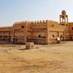 Pilgrims in the Holy Land - Qasr el Yahud Baptismal Site — Stock Photo