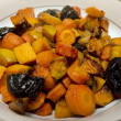 Roasted sweet vegetables  — Stock Photo