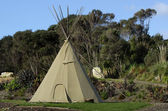 Tipi Tepee Teepee - American indian tent — Stock Photo
