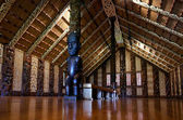 Maori meeting house - Marae — Stock Photo