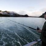 Fishing Safari in New Zealand — Stock Photo