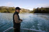 Safari pesca na nova zelândia — Foto Stock
