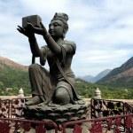 Bodhisattvas offering gift to Buddha — Stock Photo #13917897