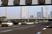 Ayalon road in Tel Aviv, — Stock Photo