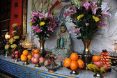 An offering to Buddha — Stock Photo