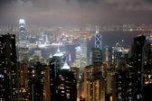 Stadsbilden av hong kong — Stockfoto