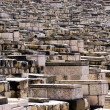 Ancient Jewish cemetery on the Mount of Olives — Stock Photo #14166611