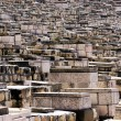 Ancient Jewish cemetery on the Mount of Olives — Foto Stock