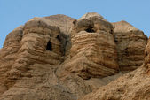 Qumran caves Israel — Stock Photo